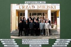 RADA MIEJSKA III KADENCJI  1998 – 2002