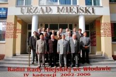 RADA MIEJSKA IV KADENCJI 2002 – 2006