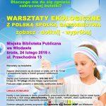 mbpwlodawa_warsztaty_ekologiczne_plakat